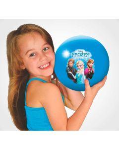 Bola de Vinil Frozen Disney Líder Brinquedos - Azul