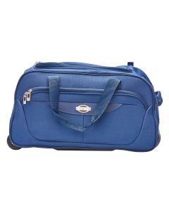 Bolsa de Viagem Médio com Carrinho Travel Luxcel - Azul