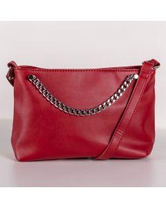 Bolsa Transversal Pequena Semax - Vermelho