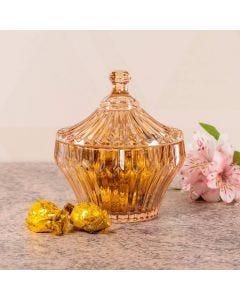 Bomboniere de Cristal Renaissance da Lyor - Ambar