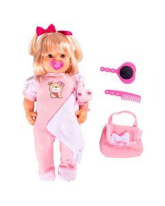 Boneca Amber Doll Miketa - 1038 - Rosa