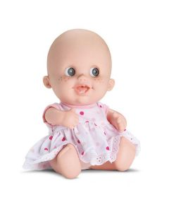 Boneca Babies Expressões Alegria Bee Toys - Rosa
