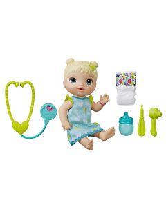 Boneca Baby Alive Cuida De Mim Loira Hasbro - E5834