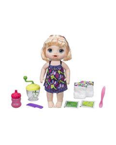 Boneca Baby Alive Papinha Loira Hasbro - E0586