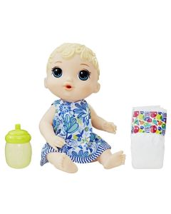 Boneca Baby Alive Hora do Xixi Loira Hasbro - E0385