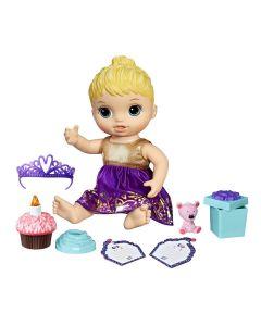 Boneca Baby Alive Festa Surpresa Loira Hasbro - E0596