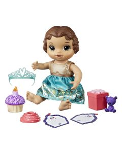 Boneca Baby Alive Festa Surpresa Morena Hasbro - E0597