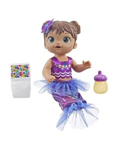 Boneca Baby Alive Morena Linda Sereia Hasbro - E3691