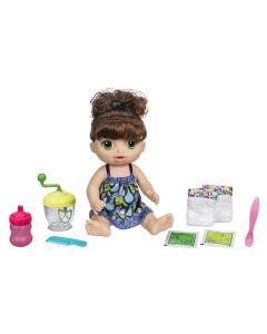 Boneca Baby Alive Papinha Morena Hasbro - E0587