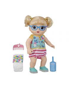 Boneca Baby Alive Sapatos Brilhantes Hasbro - E5247 - Loira
