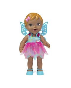 Boneca Baby Collection Fada 301 Super Toys - Azul