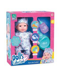 Boneca Baby Collection Hora De Cuidar Xixi Menino Super Toys - 435