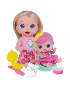 Boneca Dolls Collection Papinha Sapeca Super Toys - 407