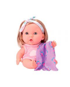 Boneca Baby Dreams 0823 BeeToys - Rosa