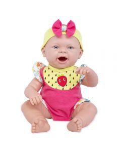 Boneca Baby Ninos Reborn Hora Do Lanche Cotiplás - 2406