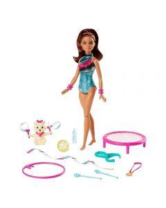 Boneca Barbie Aventuras Barbie Ginasta Mattel - GHK24