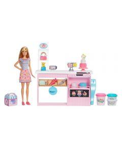 Boneca Barbie Chef de Bolinhos Mattel - GFP59