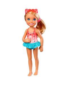 Mini Bonecas Família da Barbie Chelsea Club Mattel - Vermelho