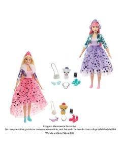 Boneca Barbie Com Animais De Estimação Aventura - GML75