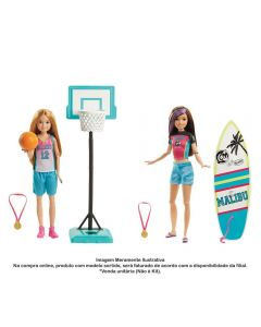 Boneca Barbie Dreamhouse Adventures Skipper Mattel - GHK34