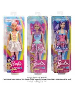 Boneca Barbie Fada Dreamtopia Mattel - GJJ98