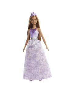 Boneca Barbie Princesa FXT13 Mattel - Roxo