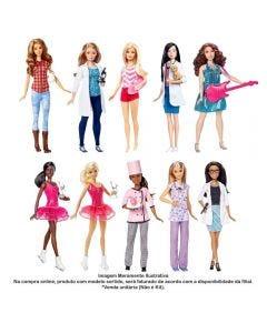 Boneca Barbie Conjunto Profissões Mattel - DVF50