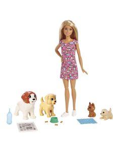 Boneca Barbie Treinadora de Cachorrinhos FXH08 Mattel - Colorido