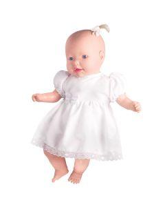 Boneca Bebê Oração 0344 Milk - Branco
