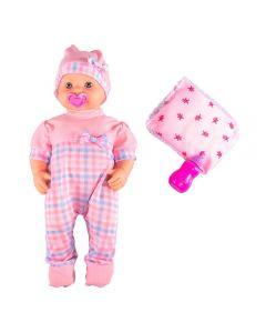Boneca Bebê Soninho Miketa - 866 - Rosa