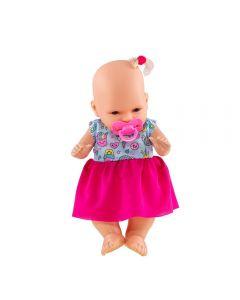 Boneca Belinha Baby Diver Toys 92 - Rosa