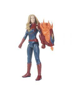 Boneca Capitã Marvel Vingadores Power FX 2.0 Hasbro - E3307