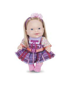 Boneca Carinha de Anjo Dulce Maria Cotiplás - ROSA