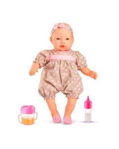 Boneca Claire com Acessórios 5416 Roma Brinquedos - Rosa