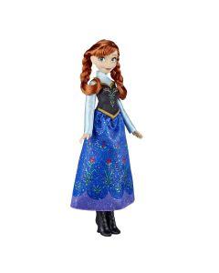 Boneca Clássica Anna Frozen E0316 Hasbro - Azul