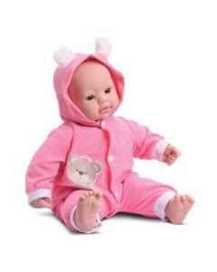Boneca Coleção Bebê 8008 DiverToys - Rosa