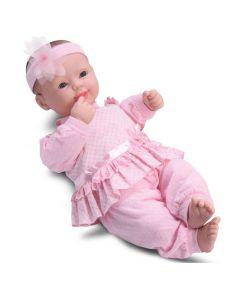 Boneca Coleção Bebê 8008 DiverToys - Rosa Bebê