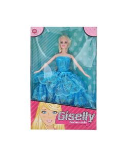 Boneca com Vestido HA0019 - Azul
