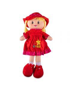 Boneca de Pano Havan - HBR0062 - Vermelho