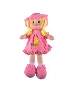 Boneca de Pano Havan - HBR0062 - Rosa