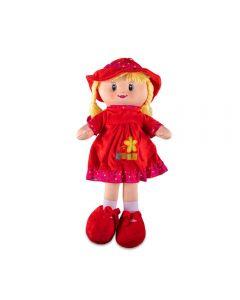 Boneca de Pano Pequena Havan - HBR0063 - Vermelho