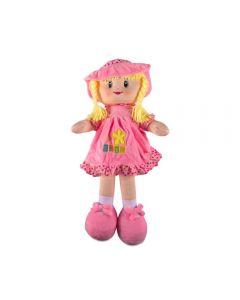 Boneca de Pano Pequena Havan - HBR0063 - Rosa
