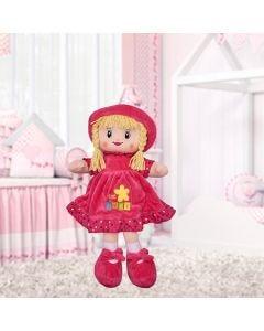 Boneca de Pano Pequena Havan - Pink