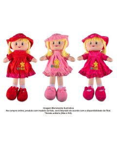 Boneca De Pano Pequena Havan - HBR0063