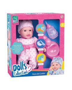 Boneca Dolls Collection Hora De Cuidar Xixi Menina Super Toys - 433