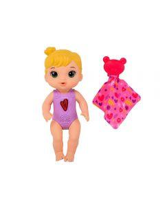 Boneca E6946 Baby Alive Coraçãozinho Loira Hasbro - Rosa