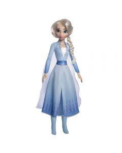 Boneca Elsa de 55cm Nova Brink - 1740 - Azul