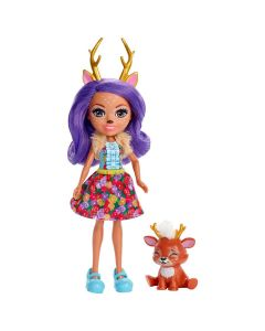 Boneca Enchantimals com Bichinho Mattel - Danessa Deer