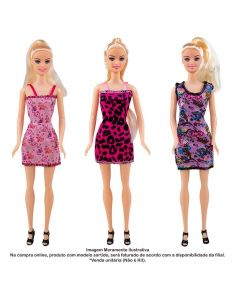 Boneca Fashion Dolls Giselly - HBR0045