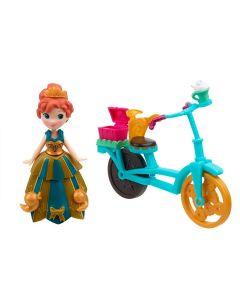 Boneca Frozen Disney Little Kingdom Hasbro - Anna